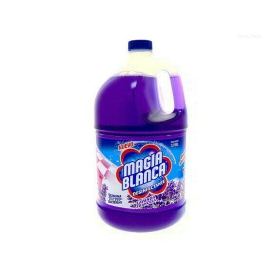 Desinfectante Magia Blanca Lavanda Bote 1.895 L