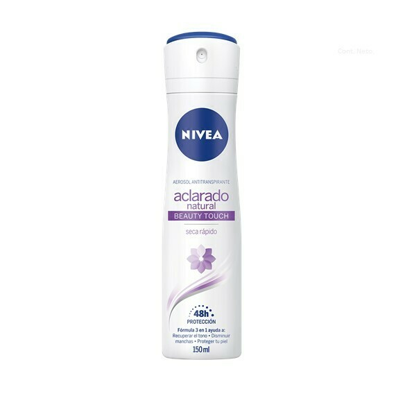 Nivea Desodorante Spray Aclarado Natural Beauty 150ml