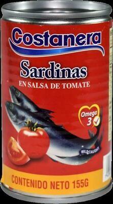 Sardina en Salsa de Tomate Costanera 155gr