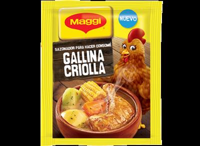 Maggi Consome Gallina Criolla 10gr