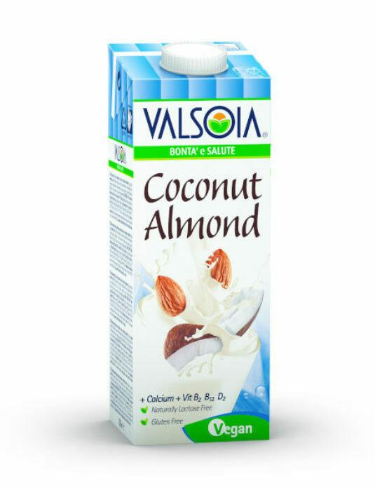 Leche de Almendra con Coco Valsoia 1000 ml