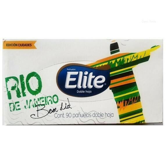 Pañuelos Desechables Elite 90 Hojas