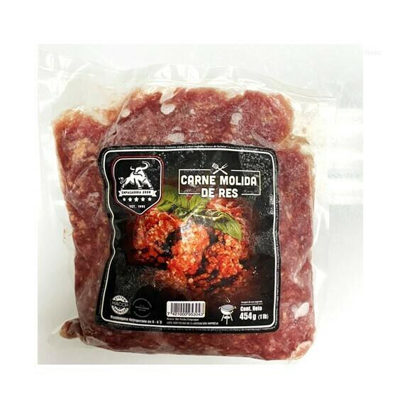 Carne Molida de Res 1Lb