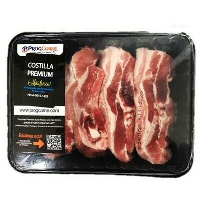 Costilla de Cerdo Premium Bandeja 3Lb (Congelado)