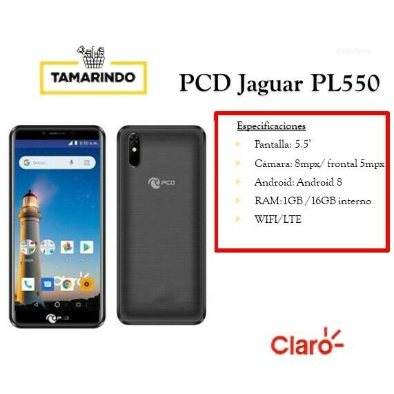 PCD Jaguar PL550 NG Negro (P) Incluye Recarga de L.50