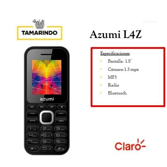 Azumi L4Z NG Negro (P)