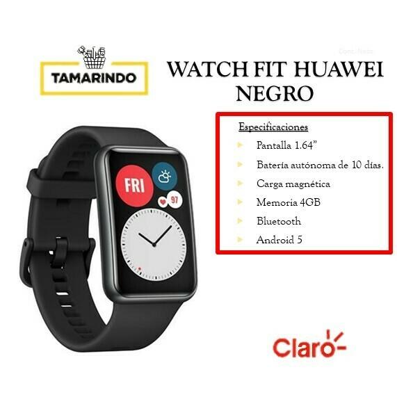 WATCH FIT Huawei Negro