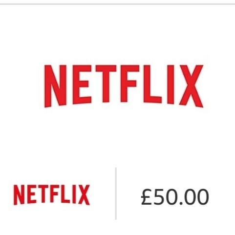 Gift card Netflix £50