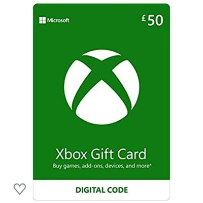 Xbox gift card £50