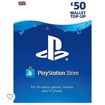 PlayStation PSN Card £50