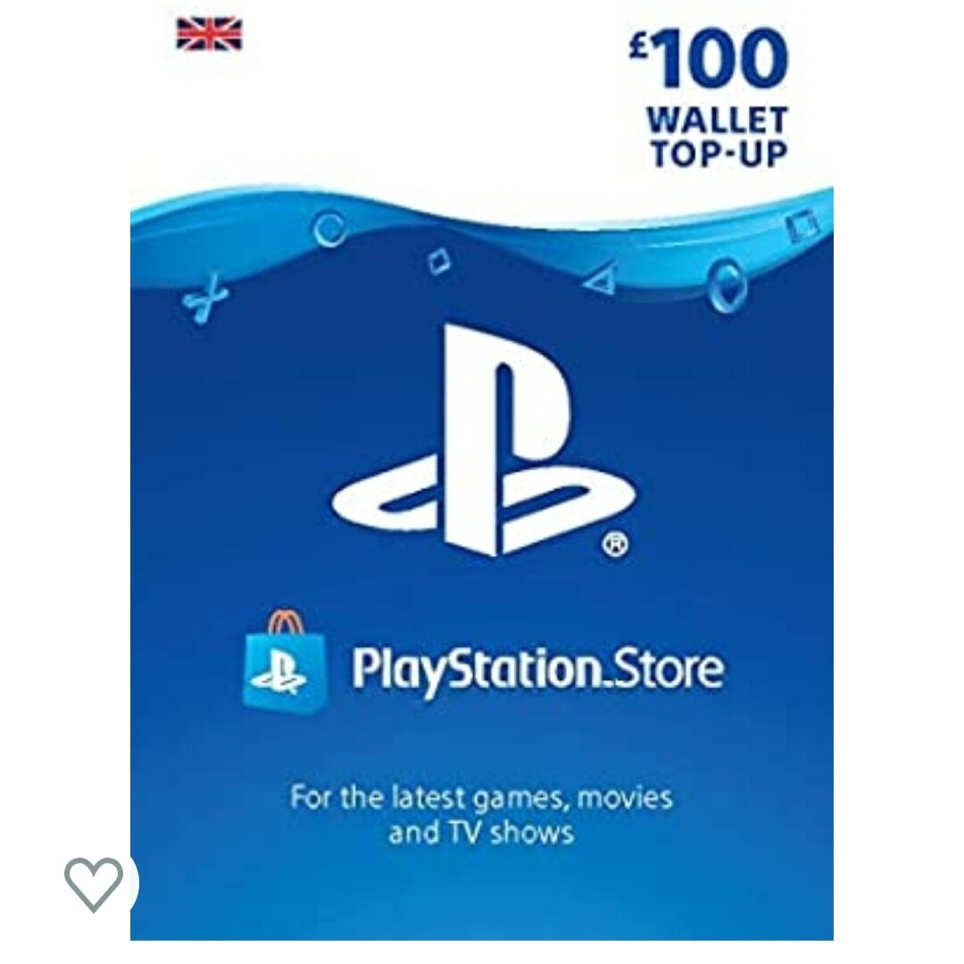 PlayStation PSN Card £100
