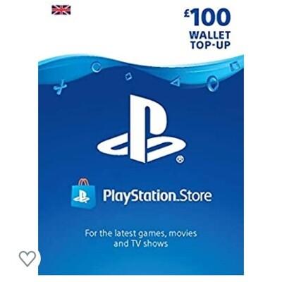 PlayStation PSN Card £100