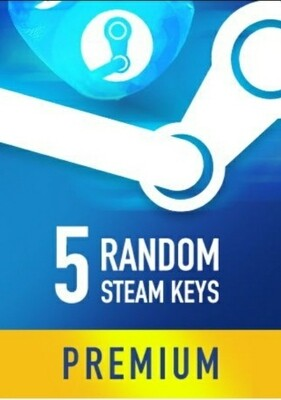 Random 5 Premium Steam keys