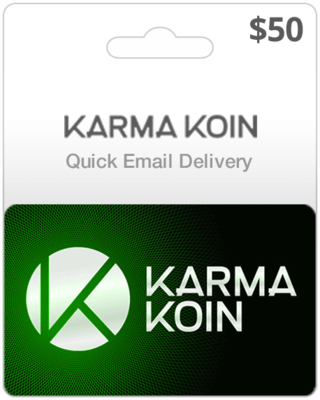 Karma Koin Game Card $50