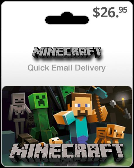 Minecraft Game Card