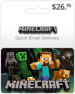 Minecraft Game Card