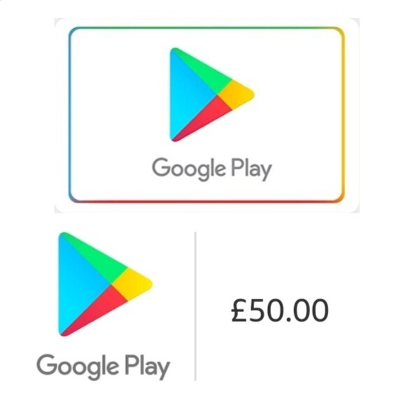Google Play £50