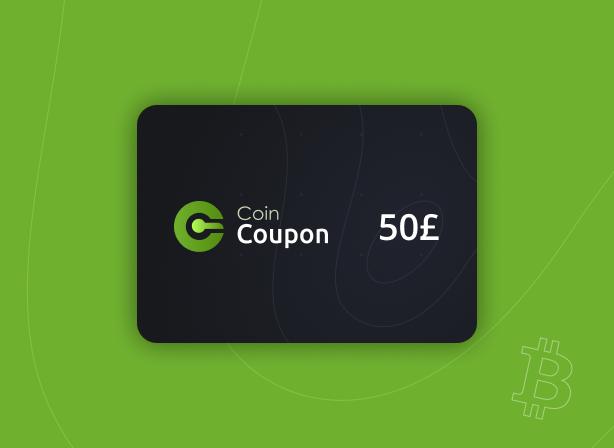 CoinCoupon Voucher £50