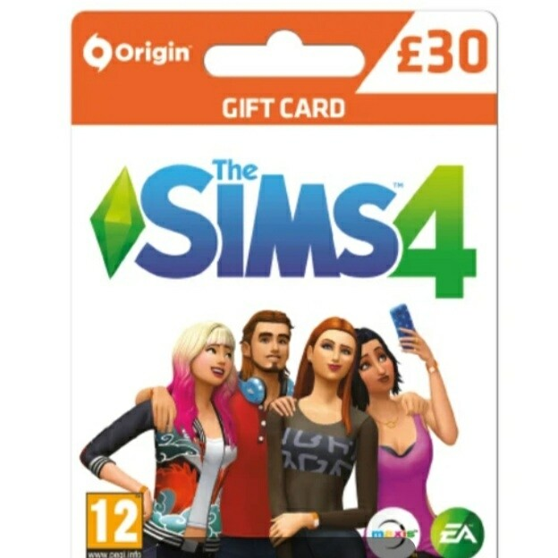 Sims 4 Gift card