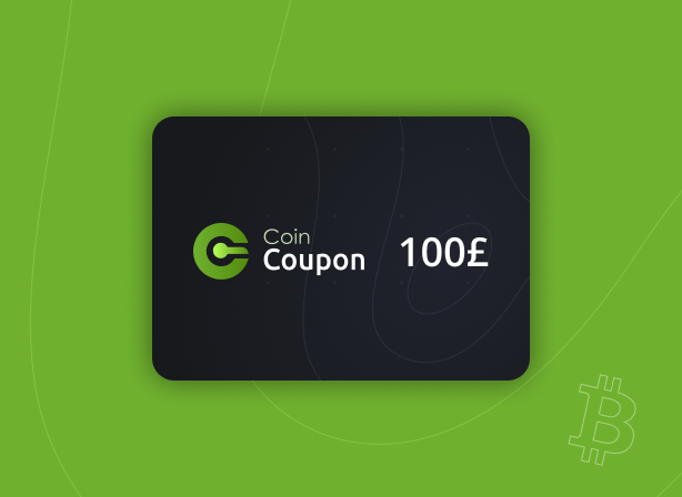CoinCoupon Voucher  £100