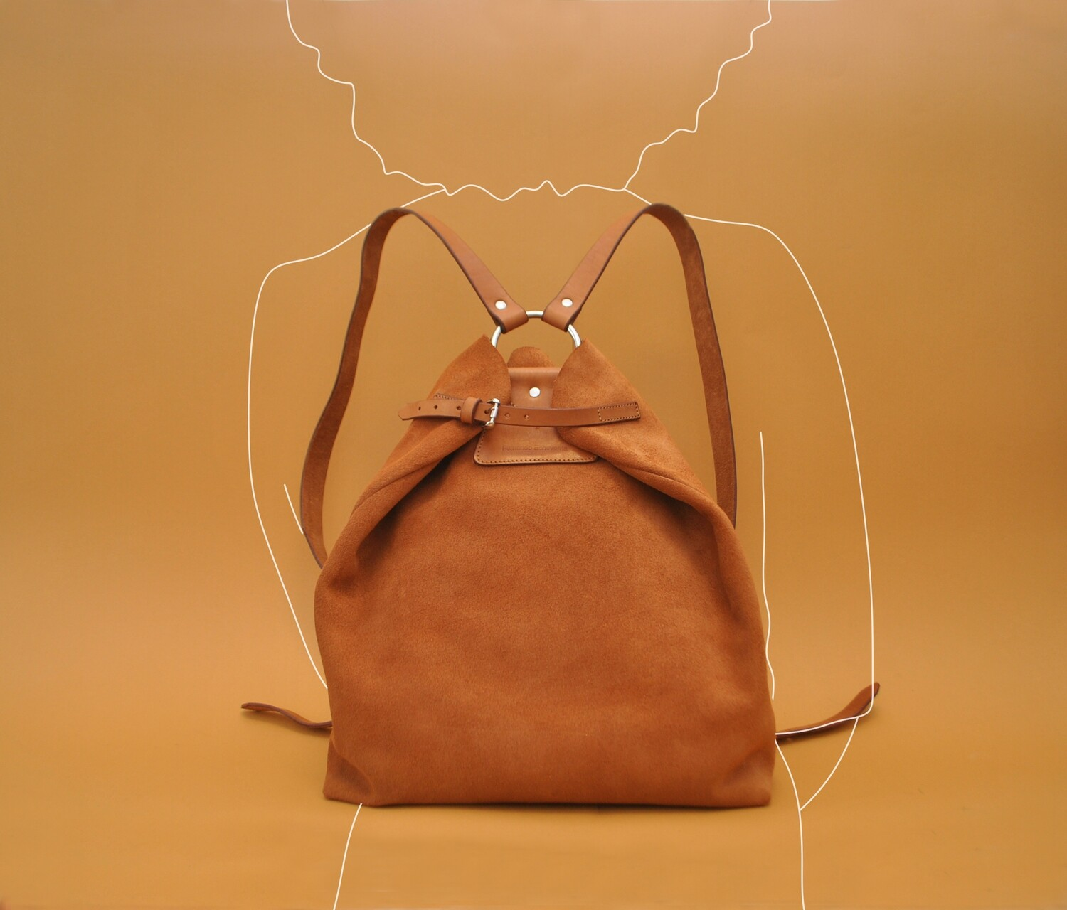 Riga backpack nubuck