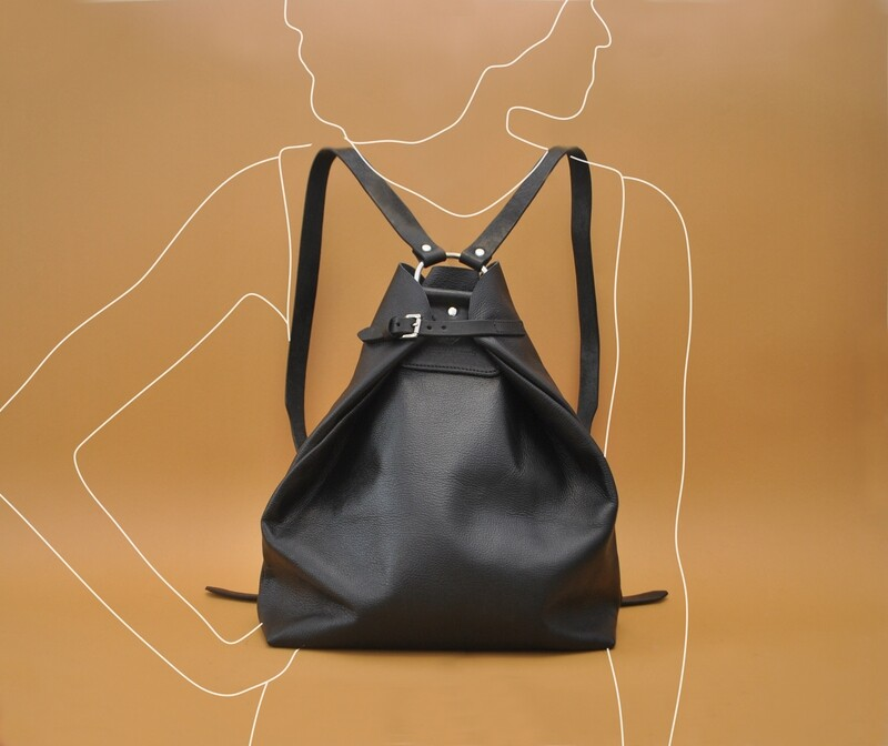 Riga backpack black