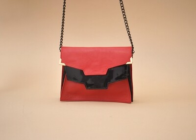 Kyoto clutch in Red