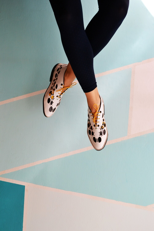 Natura shoes in cream