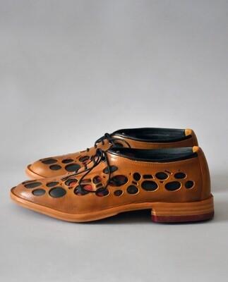 Natura shoes cognac