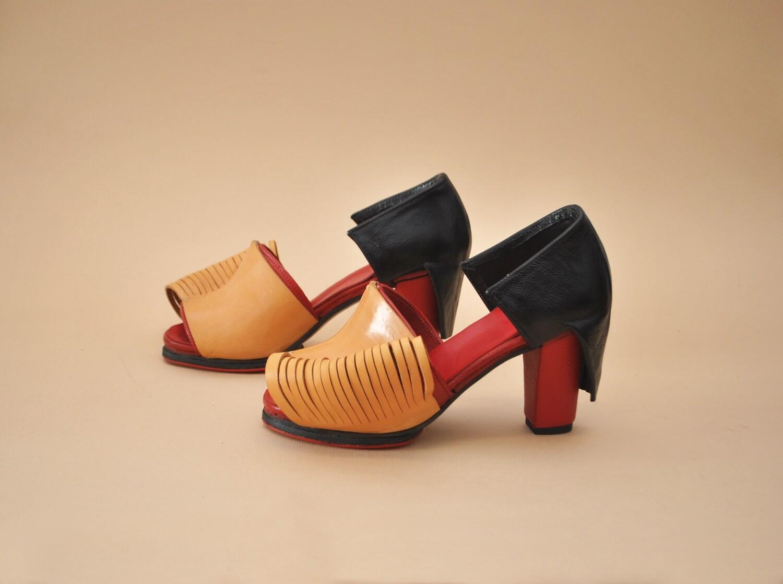 Granada high heels.