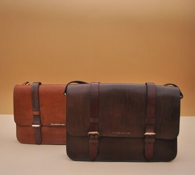 Madrid messenger Brown&bordeaux