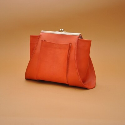 Ursus clutch orange