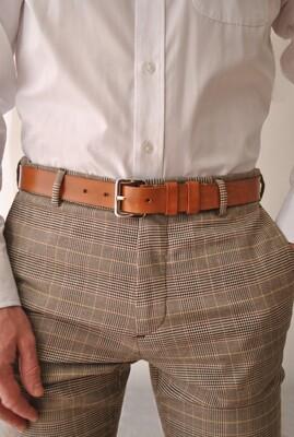 Man's belt Caramel