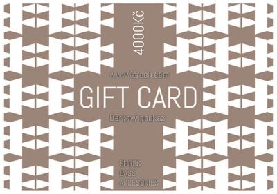 Gift card / Dárkový poukaz