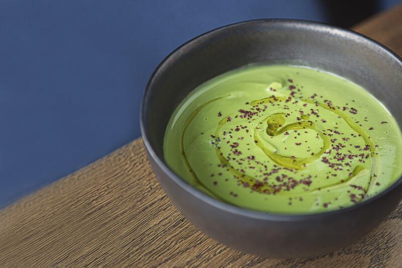 Крем суп из брокколли с курицей
