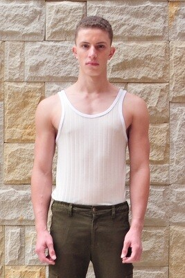 Dan Fitted Ribbed Vest