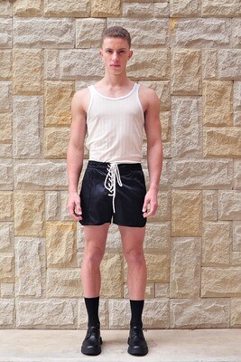 Laced Front Figher Short