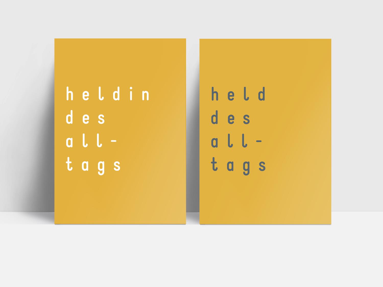 Postkarten Set für HELDEN UND HELDINNEN (Sets: 2, 10, 20, 30)