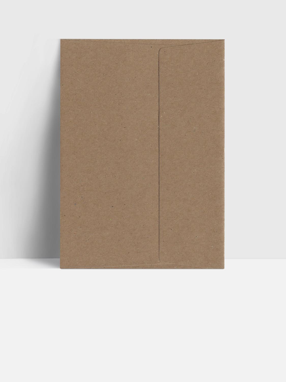 Postkarten Umschläge (Kraftpapier)