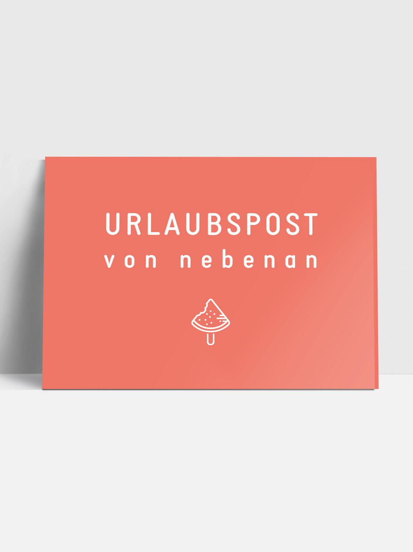 Postkarte URLAUBSPOST