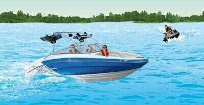 Водитель гидроцикла. Судоводитель маломерного моторного судна. Район плавания внутренние водные пути РФ