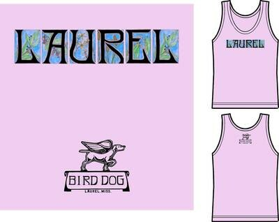 Orchid Laurel Tank Top