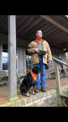 Orange Birddog Bandana