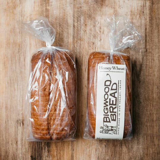 Honey Wheat Bread - Sliced