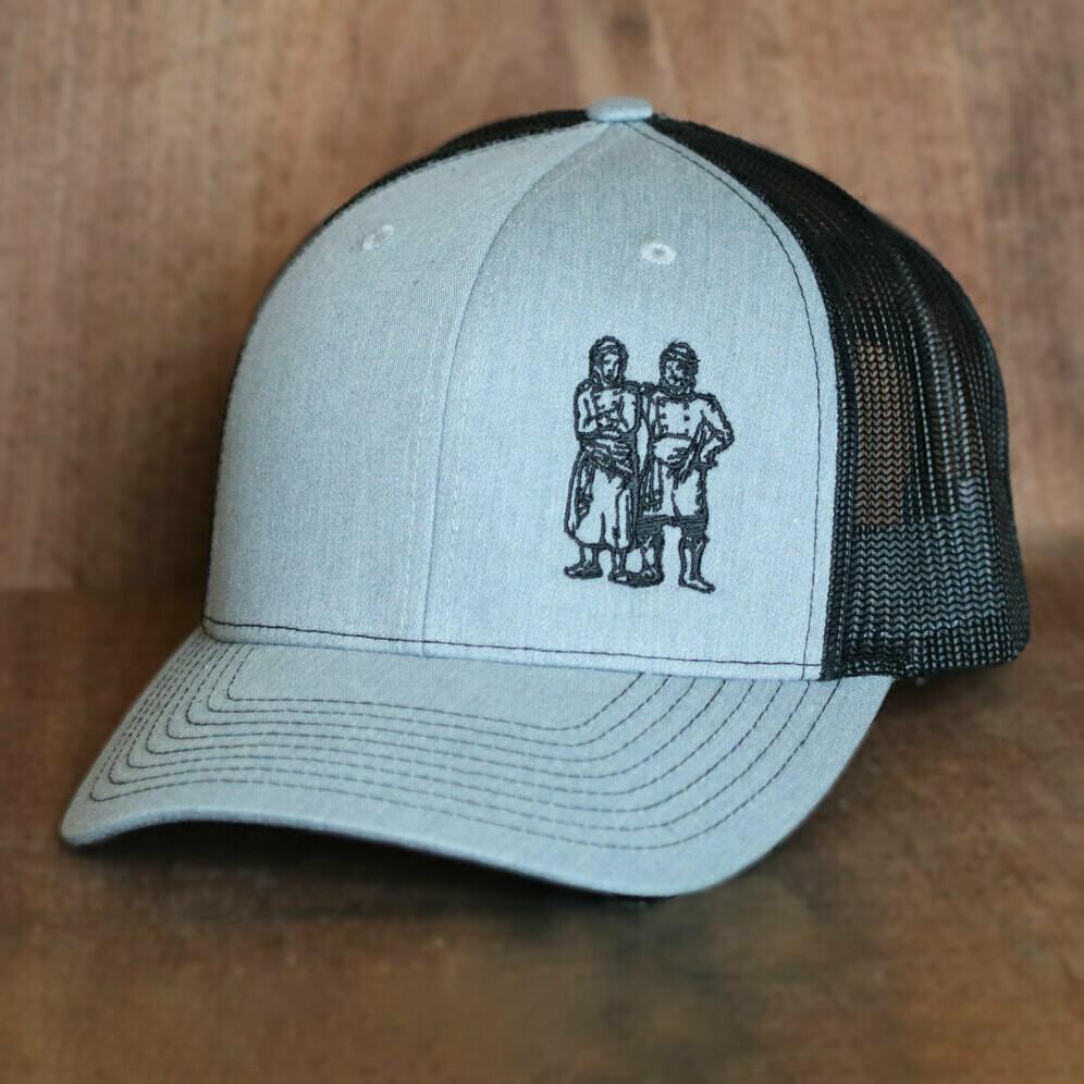 BWB Hat — Mesh Gray/Black