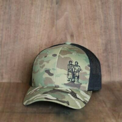 BWB Hat — Mesh Camo/Black
