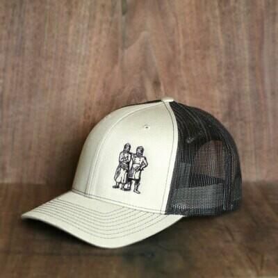 BWB Hat — Mesh Tan/Black