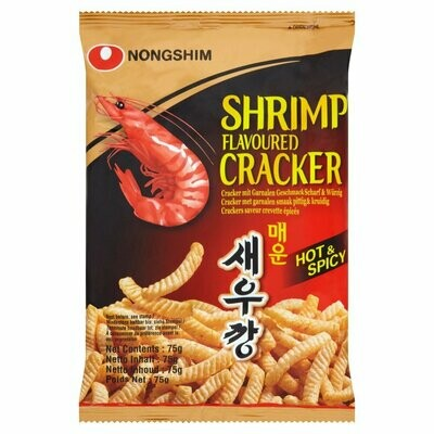 Shrimp (Hot&Spicy) Crackers, 75 g