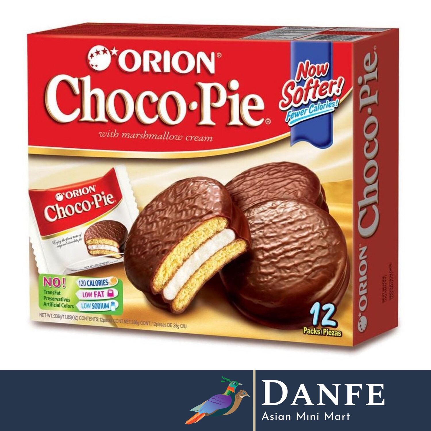 Orion Choco Pie 12 Pack