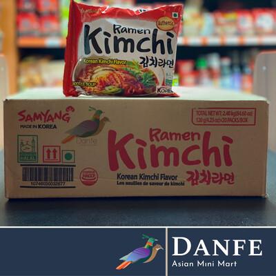 Samyang Kimchi Ramen 120g (Pack 0f 20)